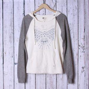 Billabong Eagle Pullover Hoodie Sweatshirt Sz M